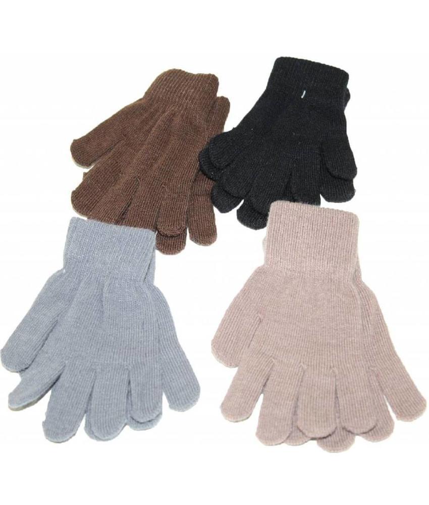 Handschoenen Kinderen dun gebreid 4- 8 jaar