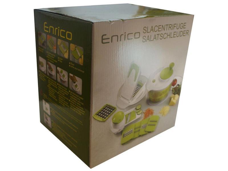 Enrico slacentrifuge met accessoires Groen
