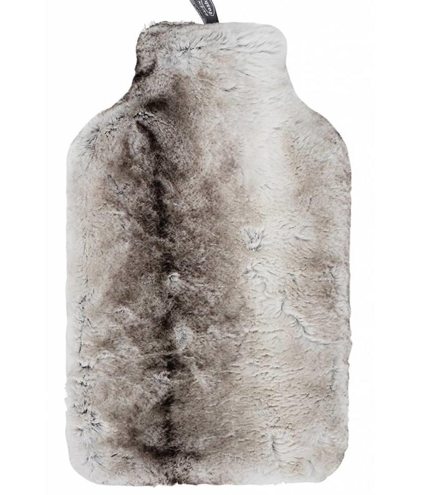 Fashy Warmwaterkruik 2 L. met kwalitatieve nep bont hoes