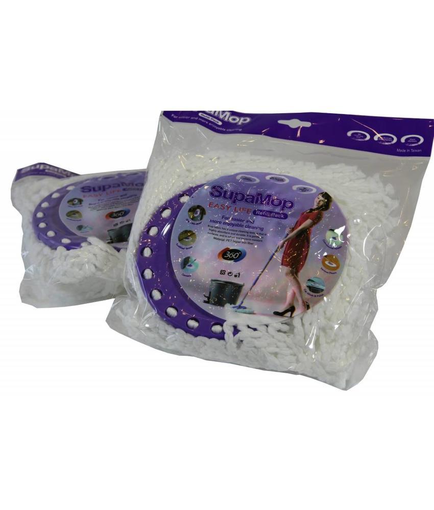 Supa mop vervangmop Microvezel