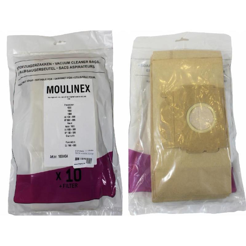 Moulinex Powerclean , Powerstyle Stofzuigerzakken