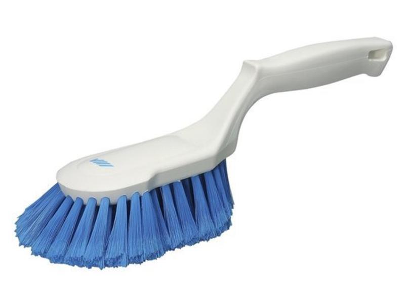Vikan Ergonomische Handborstel Blauw 33 cm.