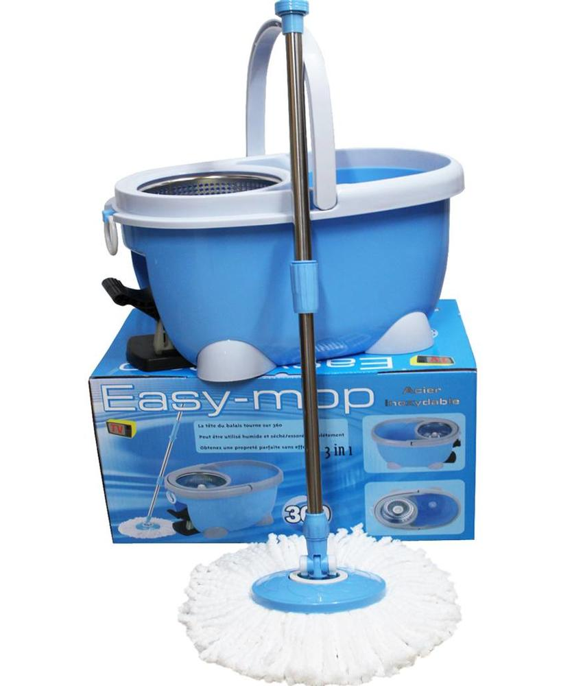 Easy Mop 3 in 1 spinner mop Stainless Steel