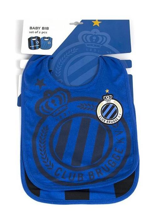 Slabbetjes 2 st. Club Brugge