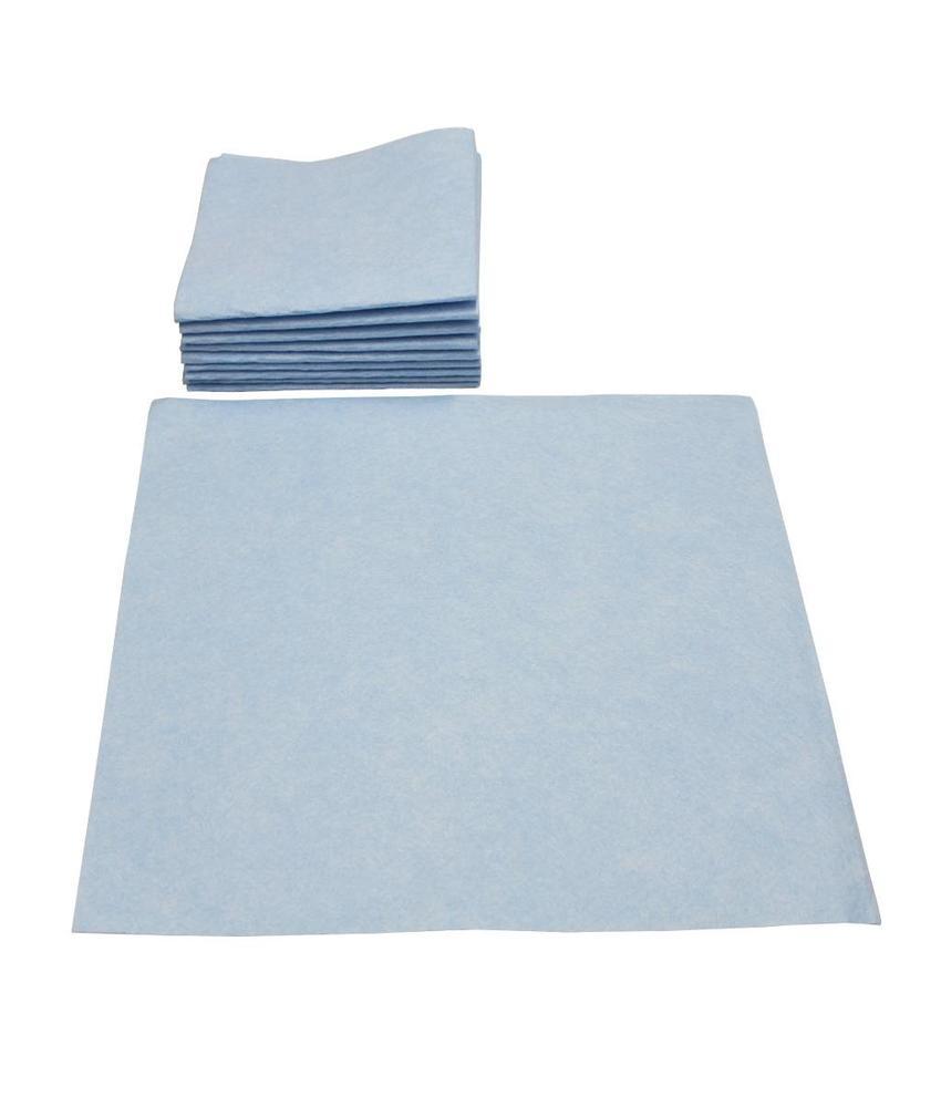 Viscose Vaatdoek Blauw 10 st. 40 X 38 cm.