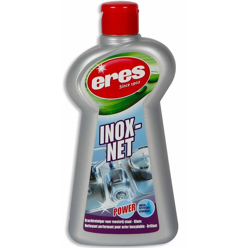 "Eres Inox-Net   ""RVS reiniger"" 225 ml."