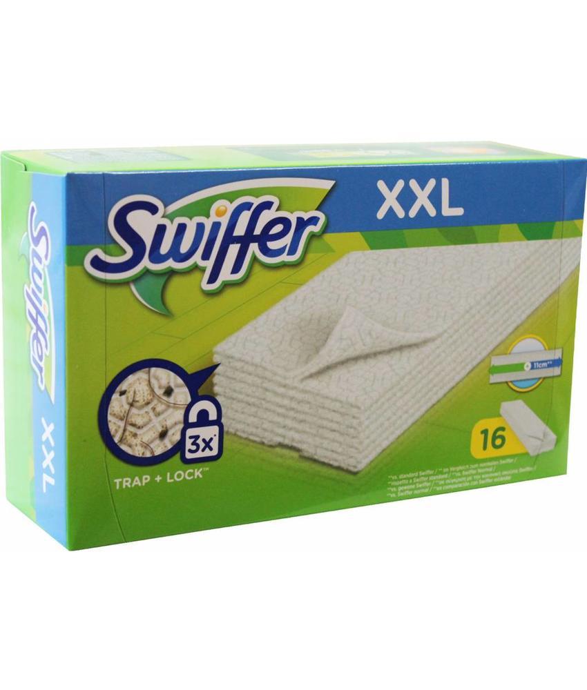 "Swiffer Stofwisdoekjes XXL  16 st.  ""navulling Maxi stofwisser"""