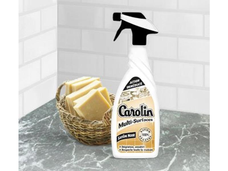 "Carolin Multi-Oppervlakken  Spray  ""Natuurlijke Zeep"" 650ml"