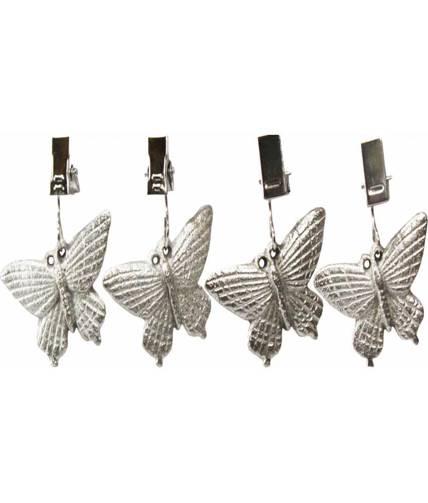 Tafelkleedgewichten  Vlinder / Libelle   4 st.