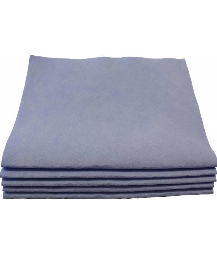 Viscose Dweil blauw 5 st. 60 X 70 cm.