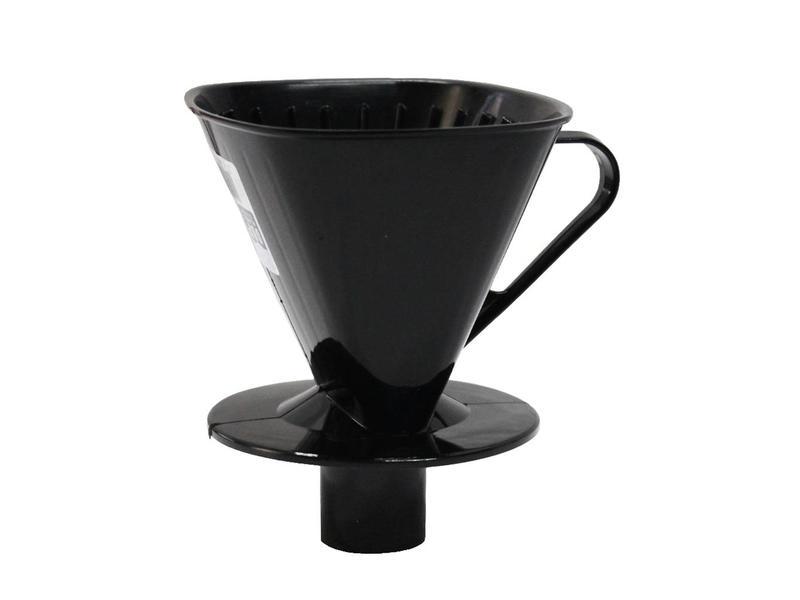 Koffiefilter met tuit  Zwart  1 x 4