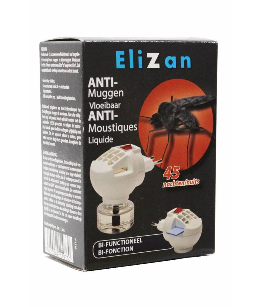 Elizan anti muggen apparaat  duo  vloeibaar+tabs