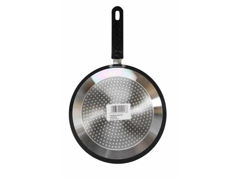 Haute Cuisine Pannenkoekenpan  Teflon Induction  25 cm.