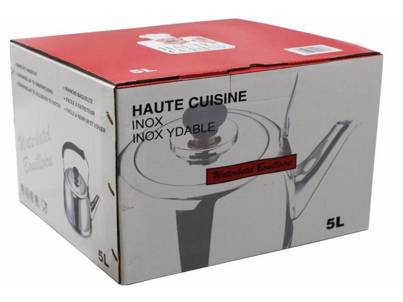 Haute Cuisine Waterketel Inox met bakeliet handvat