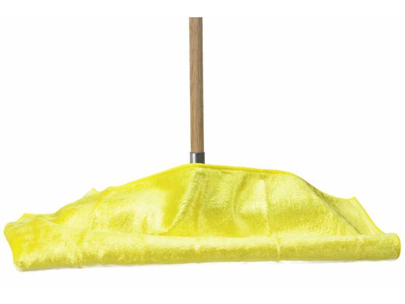 Viscose dweil met  microvezel haartjes  52 x 70 cm.