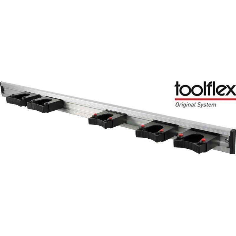 Toolflex  Ophangsysteem 90 cm.  met 5 steelhouders 20-30 mm