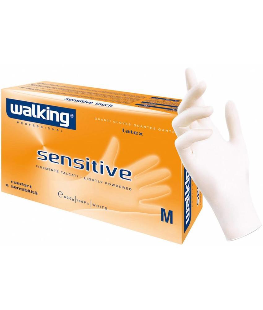 """Squizzo Latex-handschoenen """"Sensitive""""  100 st."""