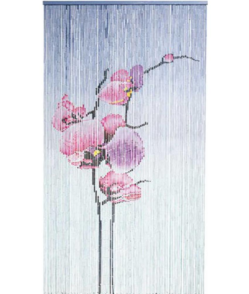 "Bamboe vliegengordijn ""Phalaeno""  90 x 200 cm"