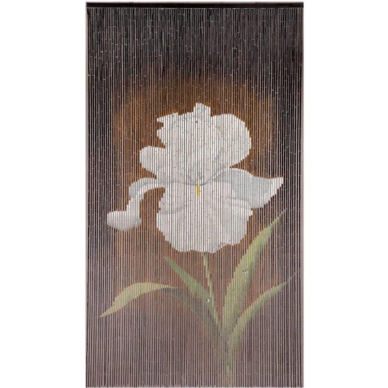 "Bamboe vliegengordijn ""Orchidée""  90 x 200 cm"