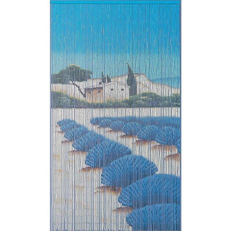 "Bamboe vliegengordijn ""Lavendel""  90 x 200 cm"