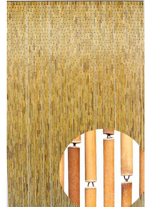 """Bamboe Vliegengordijn """"Naturel""""  120x220 cm"""
