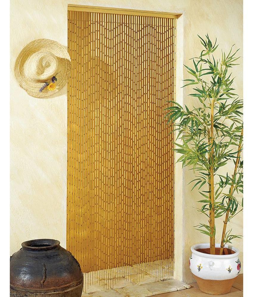 "Bamboe Vliegengordijn ""Kreupelhout""  90x200 cm"