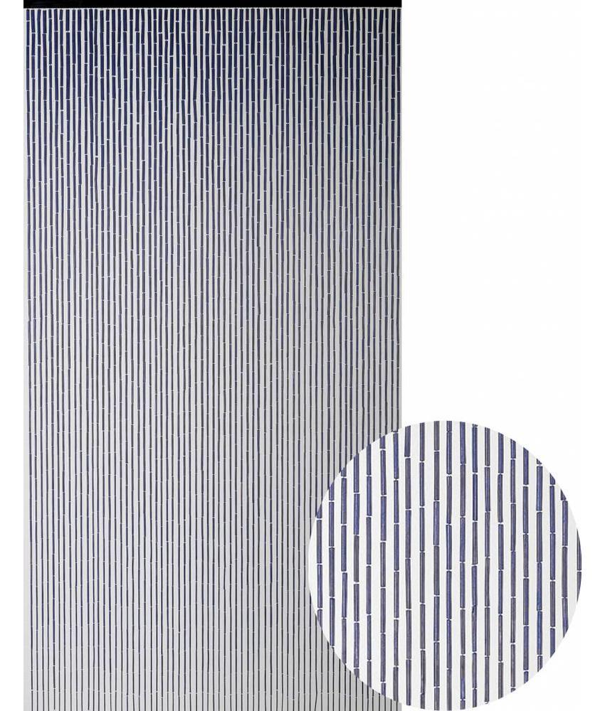 "Bamboe Vliegengordijn ""Aubergine""  90x200 cm"