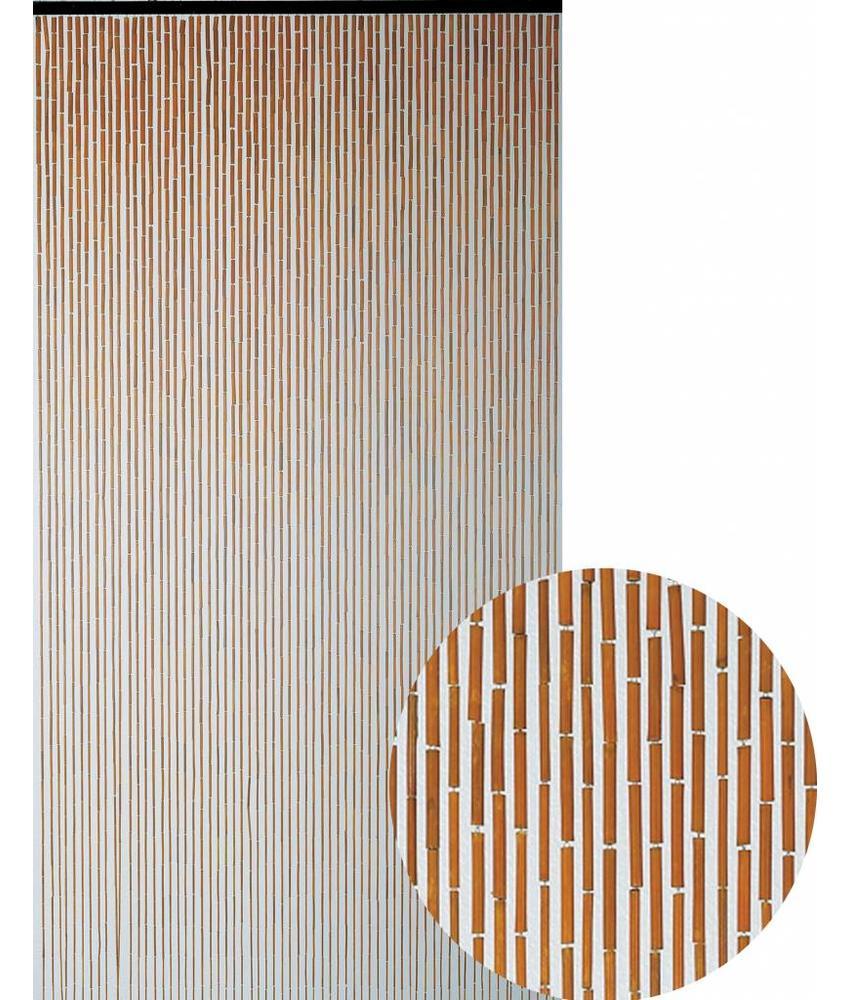 """Bamboe Vliegengordijn """"Terracotta""""  90x200 cm"""