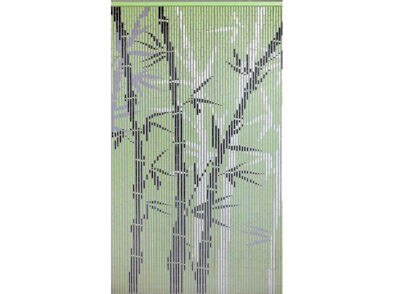 Vliegengordijn Met Print.Bamboe Vliegengordijn Bambousa 90x200 Cm