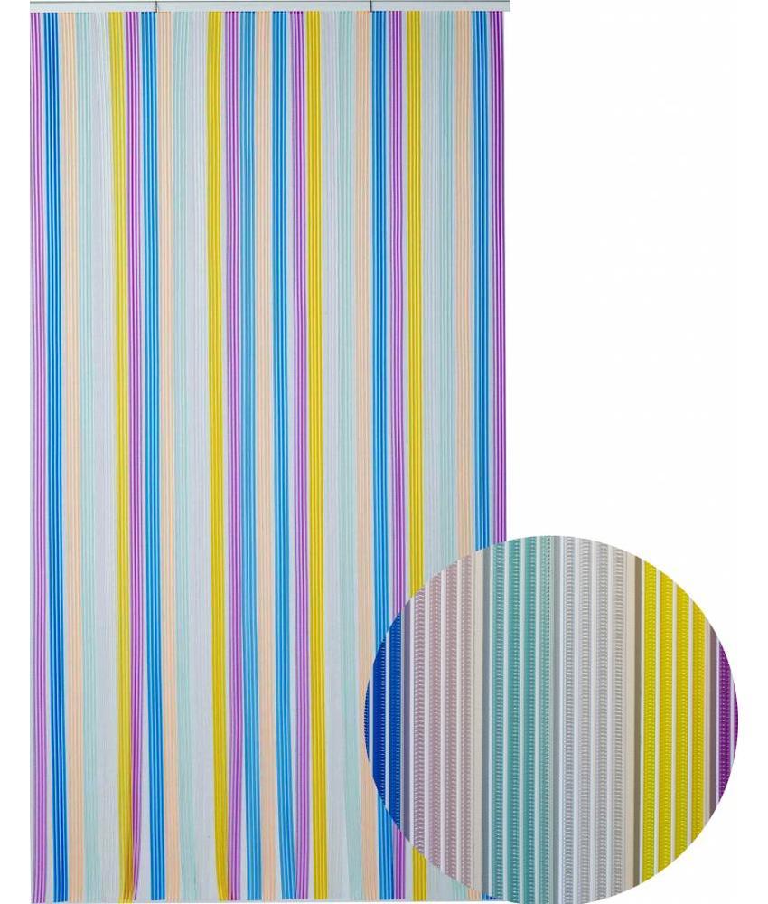"""Vliegengordijn PVC  """"Tahiti""""  Multicolore"""