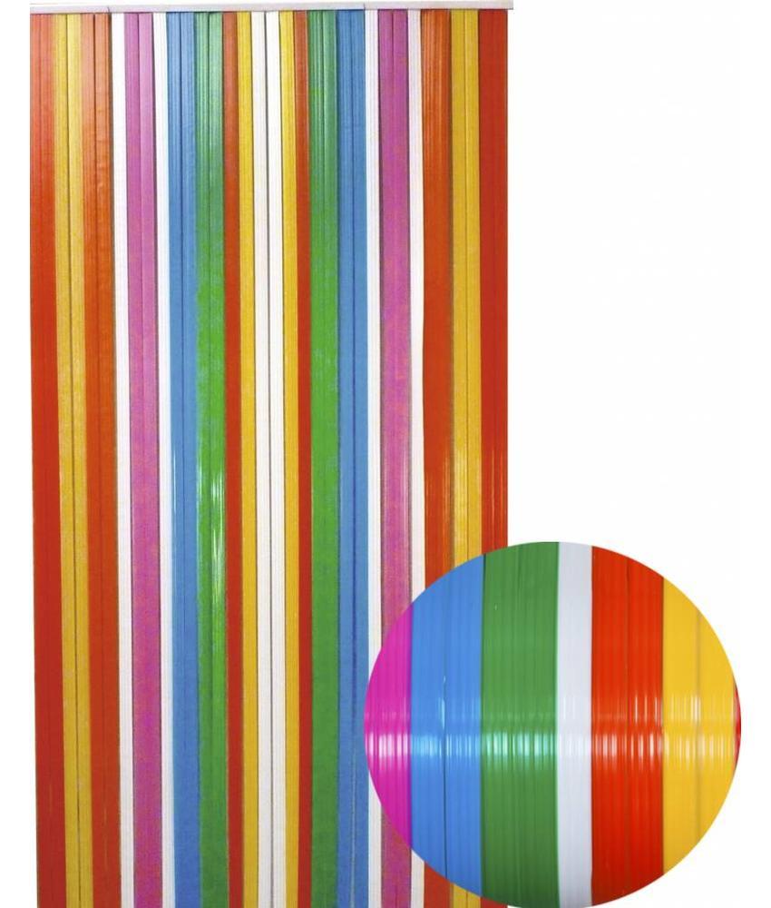 "Vliegengordijn PVC  ""Antilles""   Multicolore"
