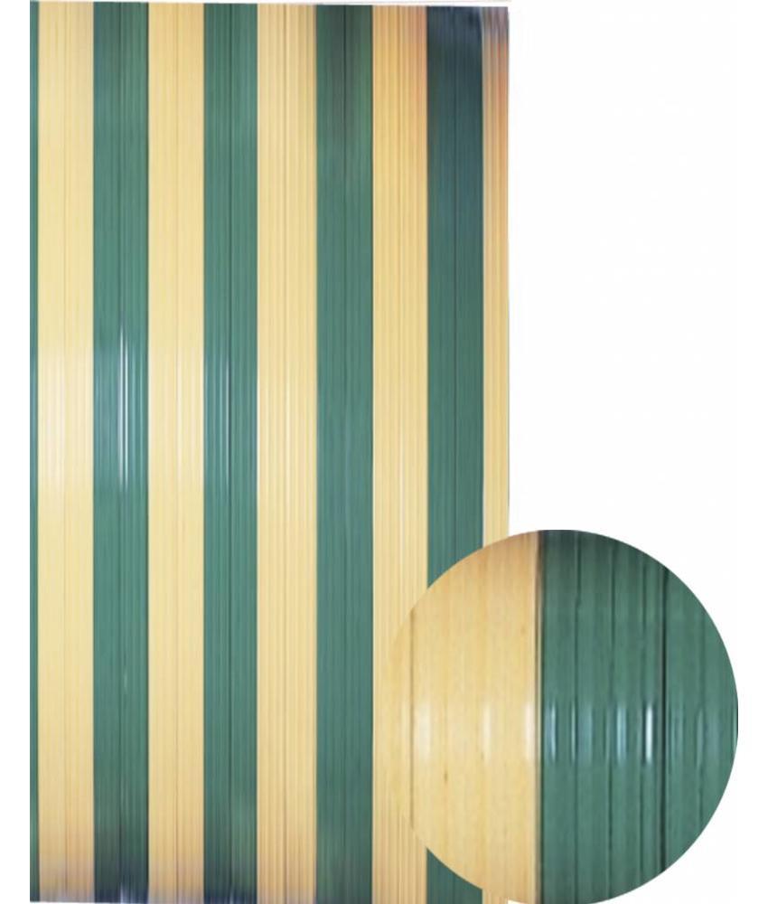 "Vliegengordijn PVC  ""Antilles""   Kaki/Beige 90x220 cm"
