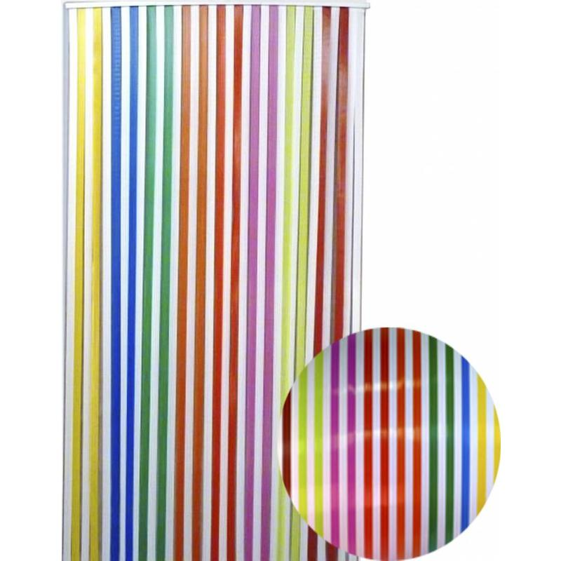 "Vliegengordijn PVC  ""Antilles""   Tutti Frutti  90x220 cm"