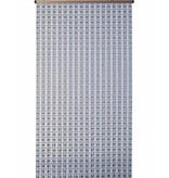 "Kralengordijn  ""Mireille""  90x220 cm  Amber/transparant"