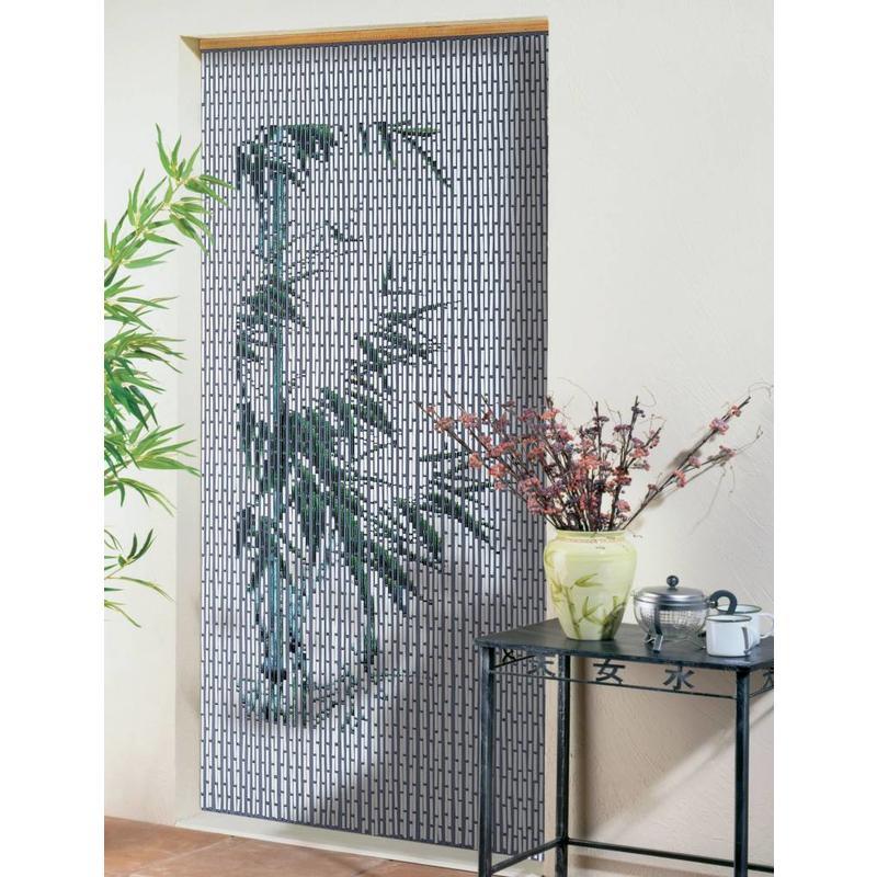 "Vliegengordijn 90 x 200 cm PVC  ""Bamboe"""