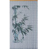 "Vliegengordijn PVC  ""Bamboe""   90 x 200 cm"