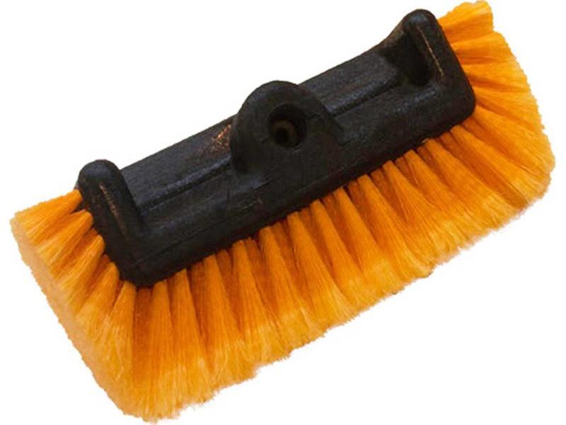 Professionele zachte Wasborstel vijfzijdig  Oranje  25 cm