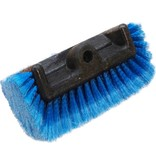 Professionele Extra zachte Wasborstel  vijfzijdig  Blauw  25 cm.