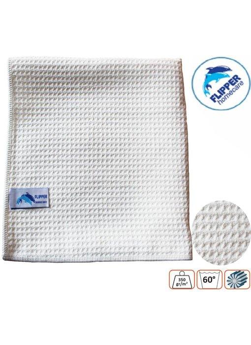 Flipper Microvezel Wafel handdoek 45x65 cm 350g/m²