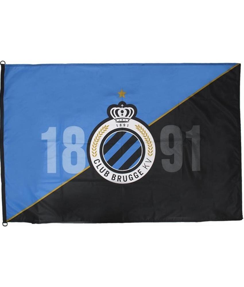 Vlag  Club Brugge  Logo - 1891