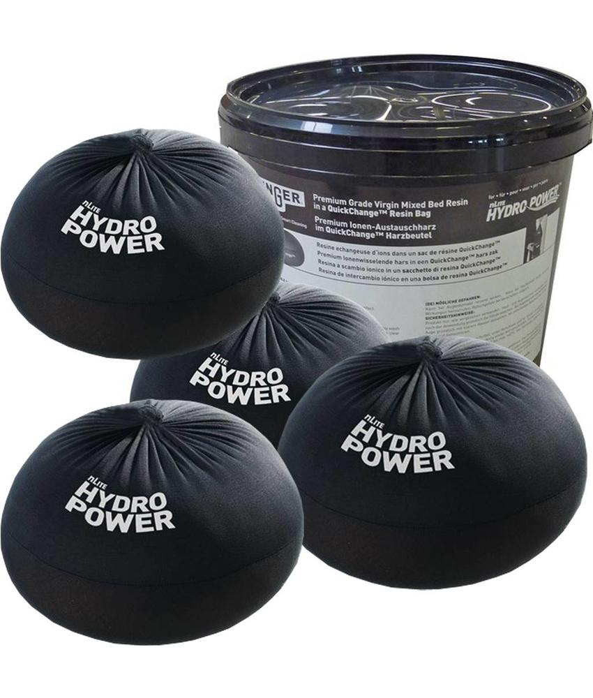 "Unger Quick Change  Hars zak 4 x 6 L  ""nLite HydroPower DI-filter"""