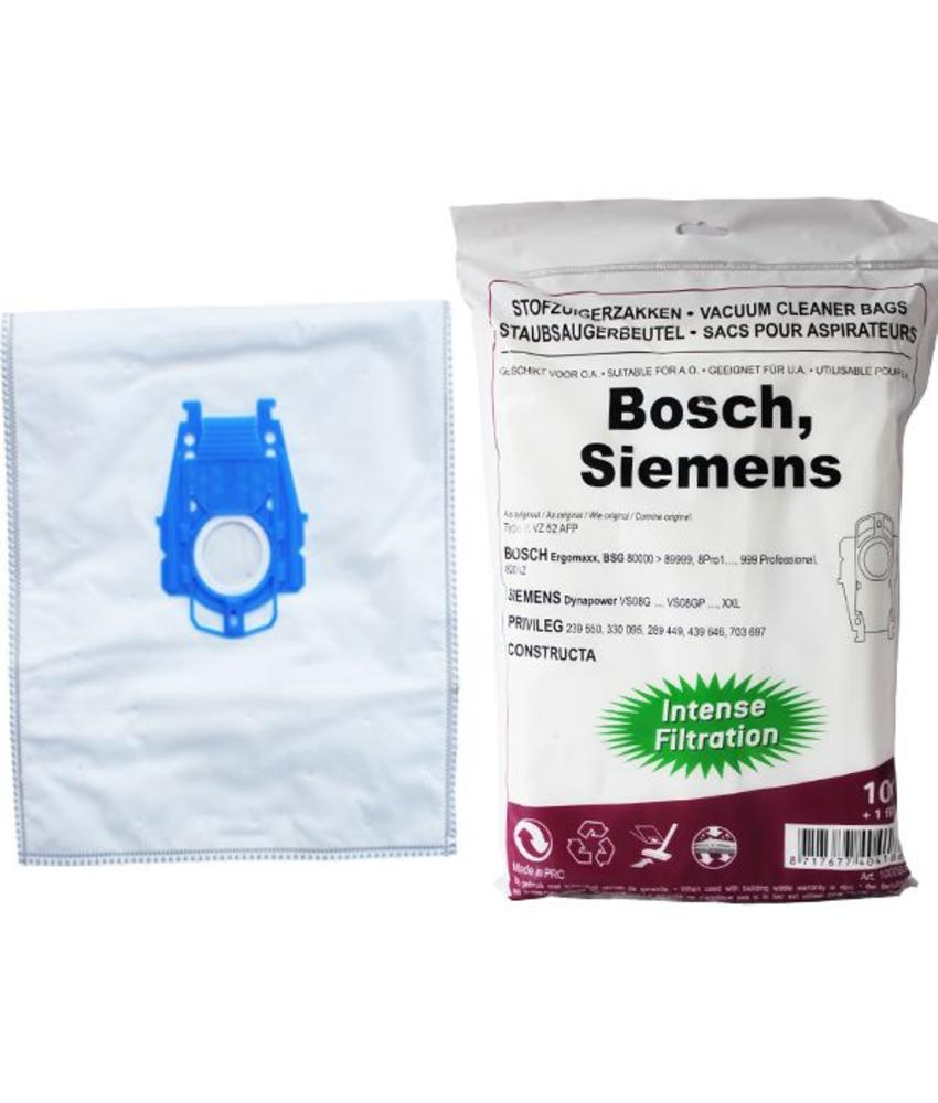 BOSCH/ SIEMENS type P,  intense filtration, kunststof aansluiting