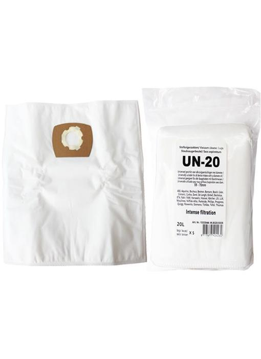 UN-20 Universele zak voor industriële ketelmodellen 20 liter intense filtration