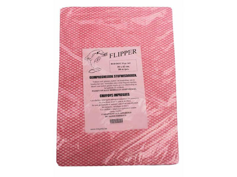Flipper stofwisser compleet 40 cm.