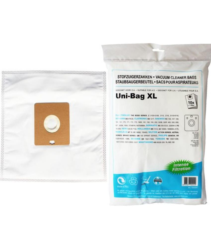 UNI-BAG XL - intense filtration karton aansluiting