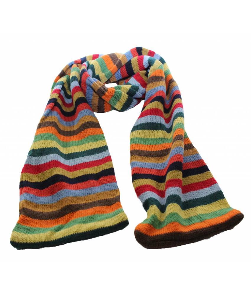 Sjaal gestreept