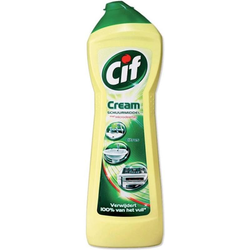 Cif Cream Schuurmiddel Citrus 750ml