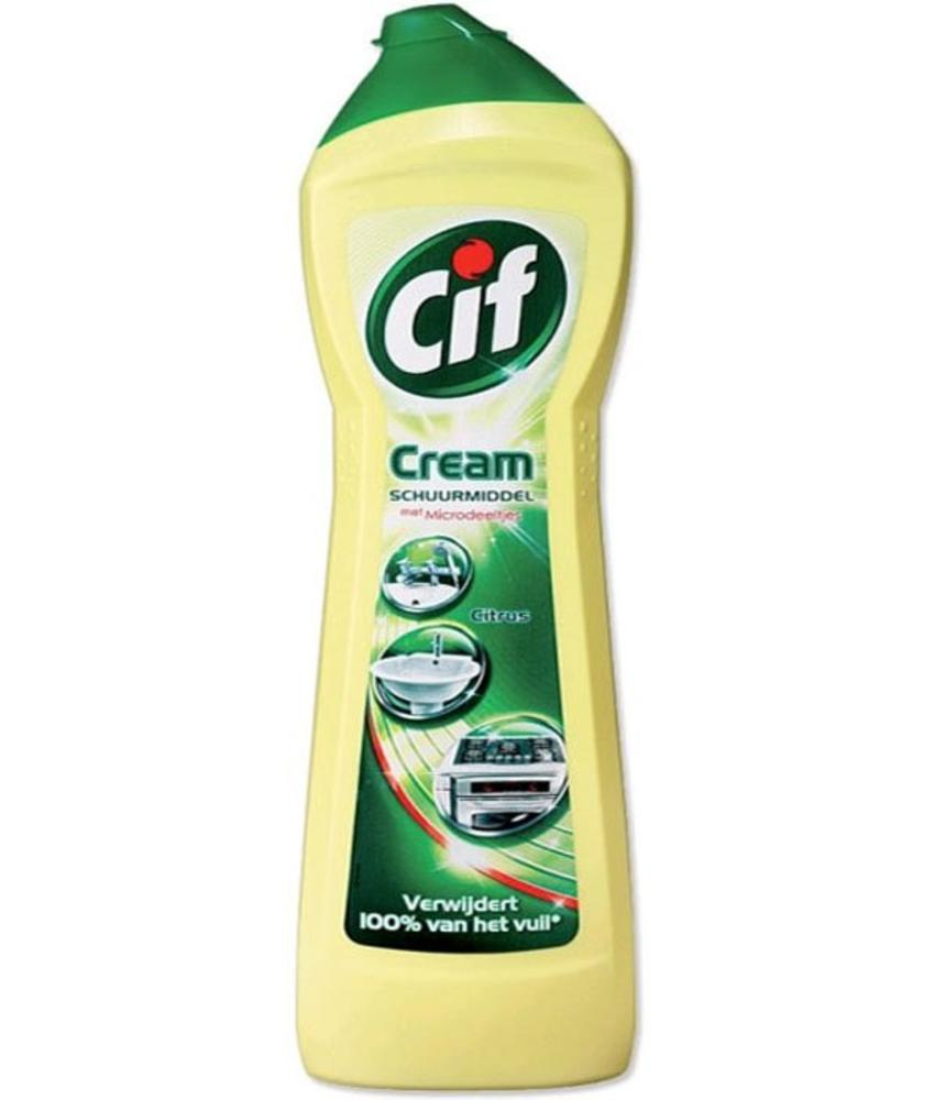 Cif Cream Schuurmiddel Citrus 750ml