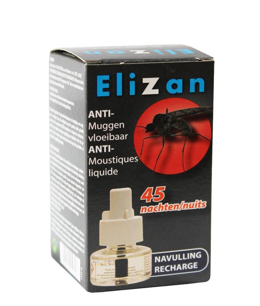 Elizan anti muggen vloeibare navulling