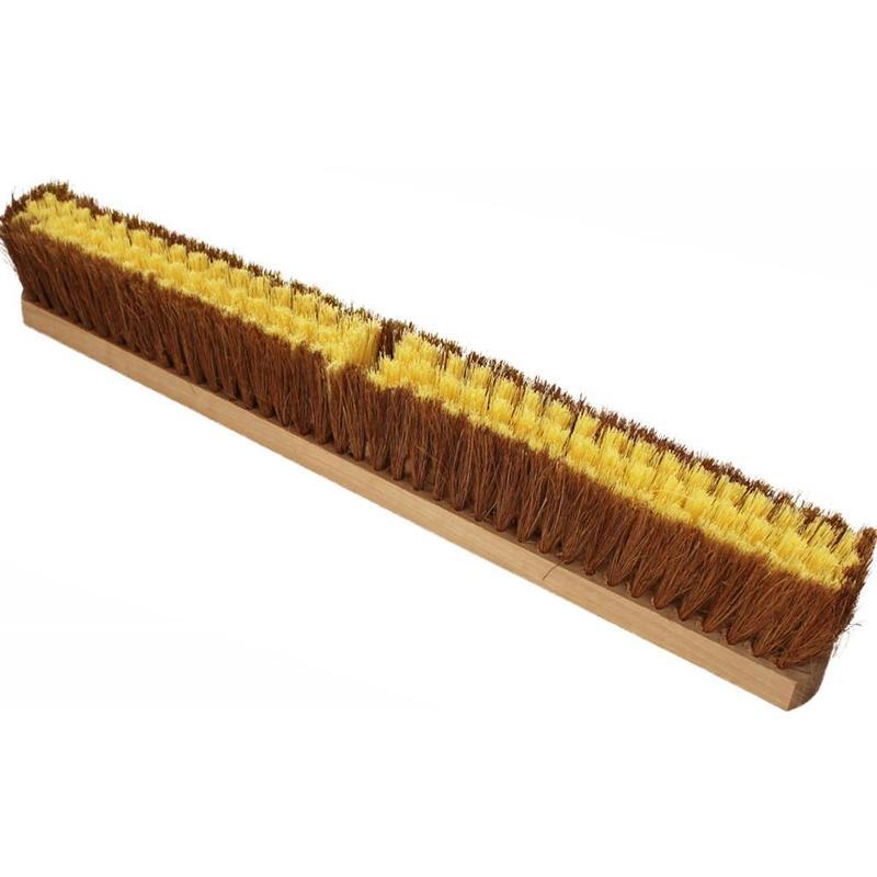 Keerborstel coco-mexilon 80 cm